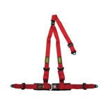 OMP Strada 3 - points Safety Belts ECE, DA509 Red