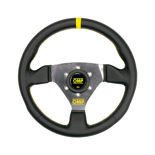 OMP TRECENTO Leather Steering Wheel