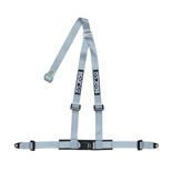 "Sparco 3 - point 2"" Safety Belts with standard bolts, grey"