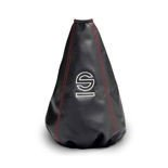 Sparco BASIC Gear Knob Gaiter red thread