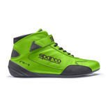 Sparco CROSS RB-7 Green Racing Shoes (with FIA homologation)