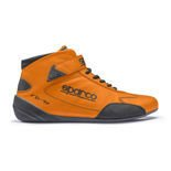Sparco CROSS RB-7+ Orange Racing Shoes (with FIA homologation)