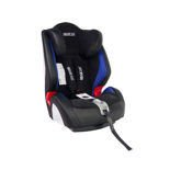 Sparco F1000K Black/Blue Child Seat (9-36 kg) (19-79 lbs)