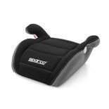 Sparco F100K Black and Grey Child Seat (15-36 kg) (33 - 79 lbs)