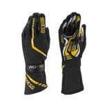 Sparco Gloves Torpedo KG-5 black/yellow
