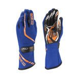 Sparco Gloves Torpedo KG-5 blue/orange