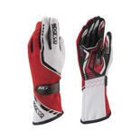 Sparco Gloves Torpedo KG-5 red/white