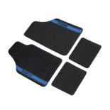Sparco NEW STRADA - A Car Mats black/blue