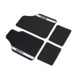 Sparco NEW STRADA - A Car Mats black/grey