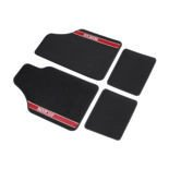 Sparco NEW STRADA - A Car Mats black/red
