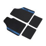 Sparco NEW STRADA - B Car Mats black/blue