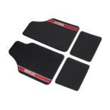Sparco NEW STRADA - B Car Mats black/red