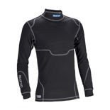 Sparco PRO TECH RW-7 longsleeve top black (with FIA homologation)