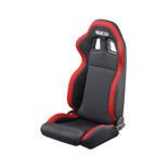 Sparco R100 Black and Red Tuning Car Seat