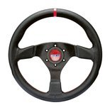 Sparco R383 CHAMPION Leather Steering Wheel Black