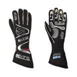 Sparco Race Gloves ARROW H-7 black (with FIA homologation)