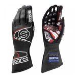 Sparco Race Gloves ARROW RG-7 Black/Red (with FIA homologation)