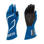 Sparco Race Gloves LAND RG-3.1 blue (with FIA homologation)