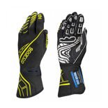 Sparco Race Gloves LAP RG-5 Black/Yellow (with FIA homologation)
