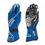Sparco Race Gloves LAP RG-5 Blue (with FIA homologation)