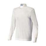 Sparco SOFT-TOUCH longsleeve t-shirt white (with FIA homologation)