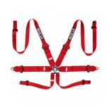 Sparco Safety Belts 6 - points 04818RH Red (with homologation FIA)