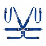 Sparco Safety Belts 6 - points 04818RHALPD Blue (with homologation FIA)