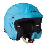Stilo WRC DES Rally Open Face Helmet Blue (Snell FIA)