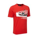 Toyota Gazoo Racing Kids' Car T-Shirt Red