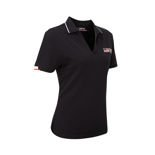 Toyota Gazoo Racing Women's Logo Polo Shirt Black