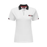 Toyota Gazoo Racing Women's Logo Polo Shirt White