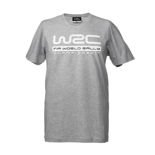 WRC Mens Logo T-shirt Grey