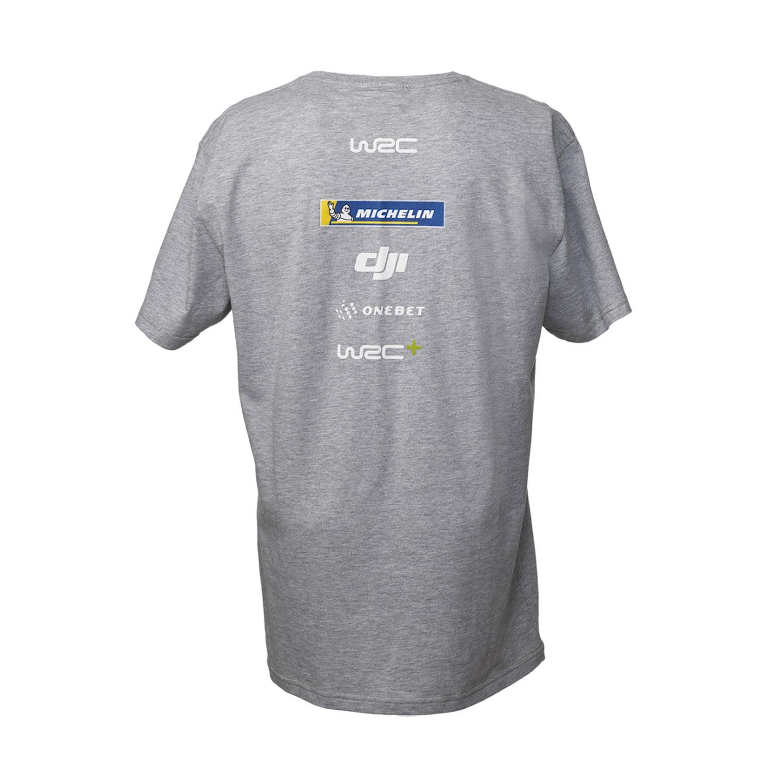 679291f59a58 WRC Mens Logo T-shirt Grey | T-shirts \ Mens | Rallymerchandise.eu