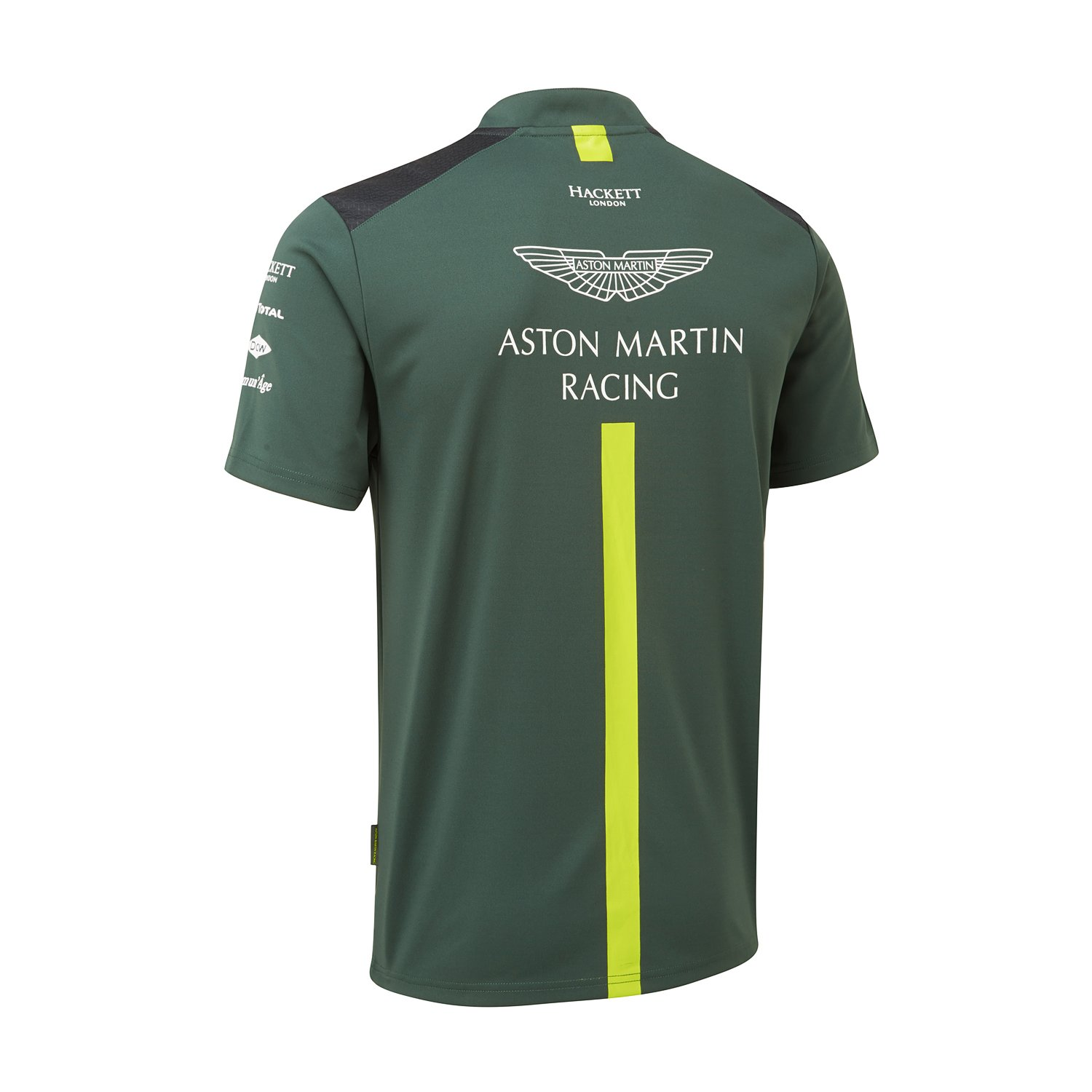 Green Aston Martin Racing Mens Lifestyle T-Shirt XS