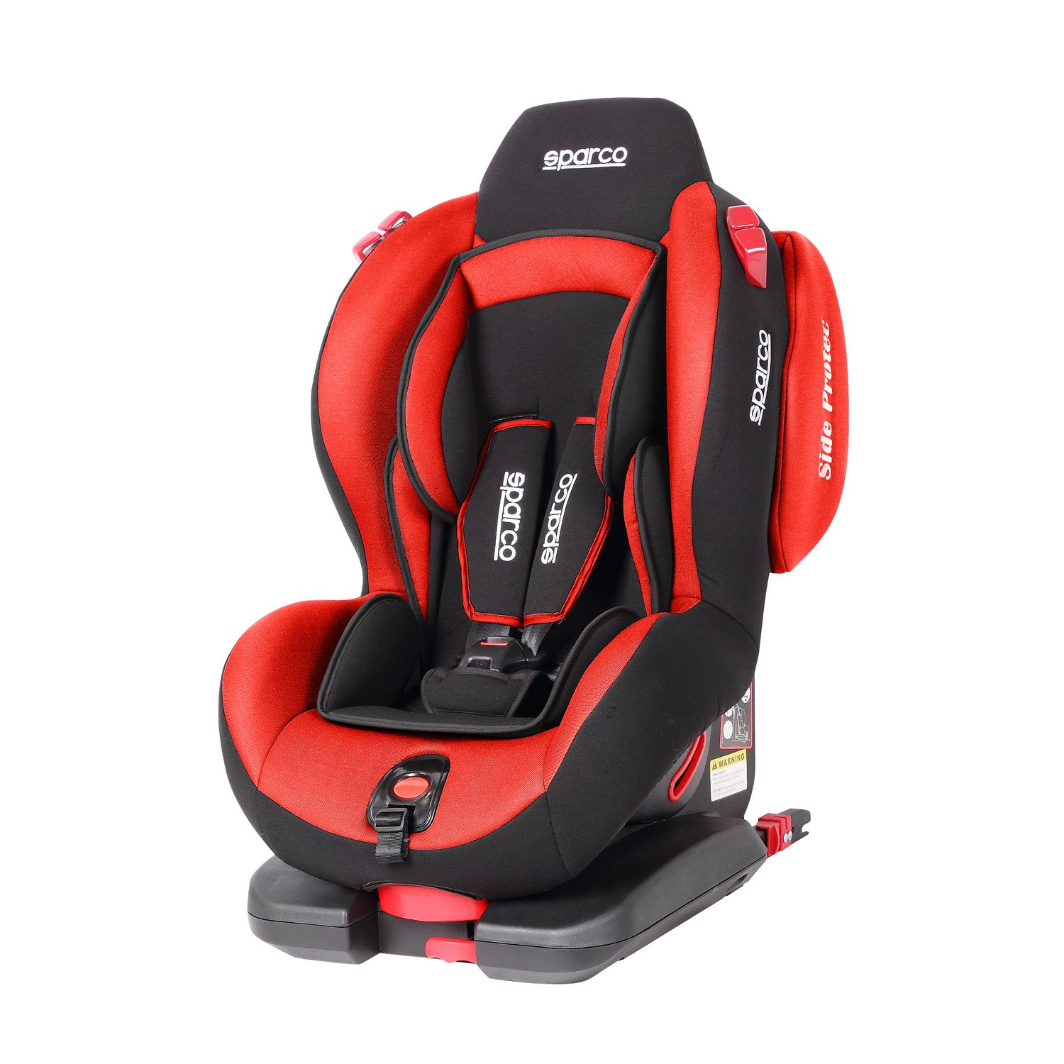 Sparco F500I Evo Red Child Seat 9 25 Kg 19 55 Lbs