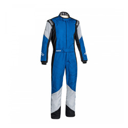 Sparco GRIP RS-4 Racing Suit Blue/Grey (Homologation FIA)