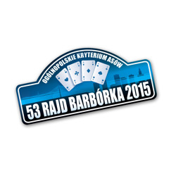 2015 Barbórka Rally Large Sticker