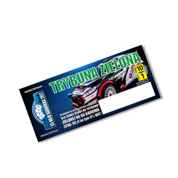 2017 Barbórka Rally Green Tribune Ticket