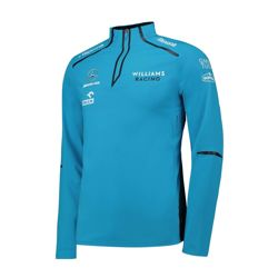 2019 Williams Racing Mens Team Midlayer Sweatjacket blue