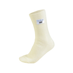 OMP CLASSIC white short socks (with FIA homologation)