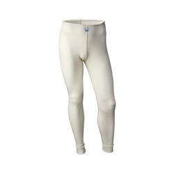 OMP FIRST underwear pants ecru (with FIA homologation)