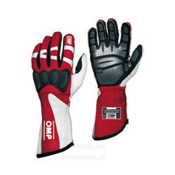 OMP HTG red Racing Gloves (with FIA homologation)