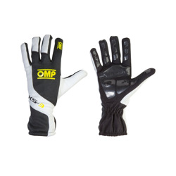 OMP KS-3 Gloves black/yellow