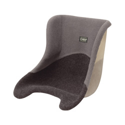OMP Karting Seat with grey upholstery