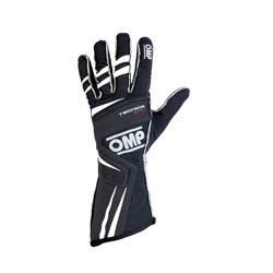 OMP TECNICA EVO MY18 Black Racing Gloves (FIA)