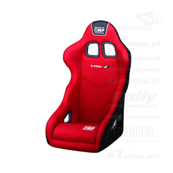 OMP TRS MY14 red Racing Seat (with FIA homologation)