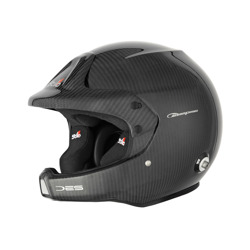 Open Face Helmet Stilo WRC Des Carbon Rally Hans (homologation Snell and FIA)