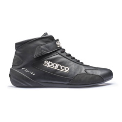 Sparco CROSS RB-7+ Black Racing Shoes (with FIA homologation)