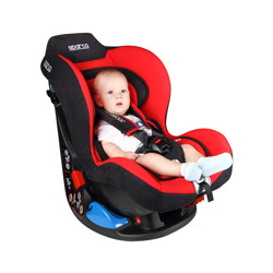 Sparco F5000K Red Child Seat (0-18 kg)