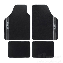 Sparco NEW STRADA - A Car Mats black